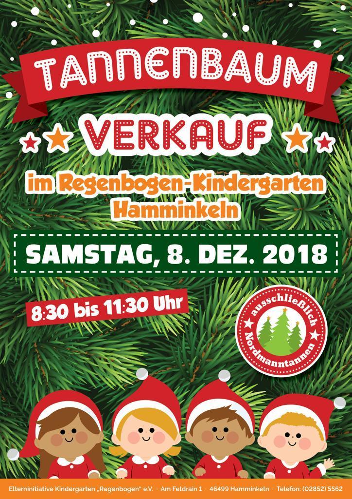 Plakat Tannenbaumverkauf 2018